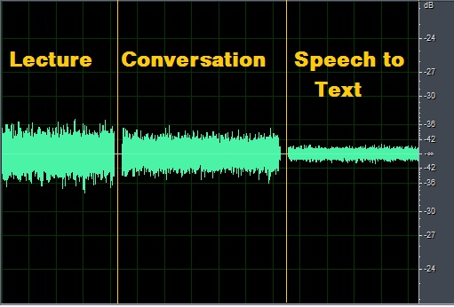 Lecture-Conversation-SpeechToText
